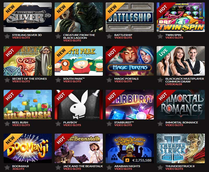 buy online casino online jackpot games