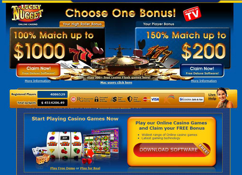 Lucky nugget casino games is internet gambling illegal in the united states