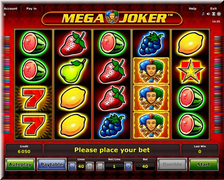 casino online test mega joker